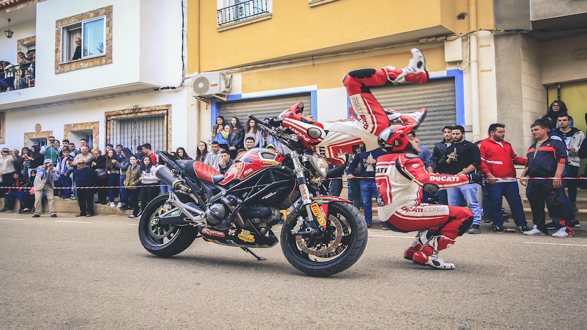 Ducati Stunt Show